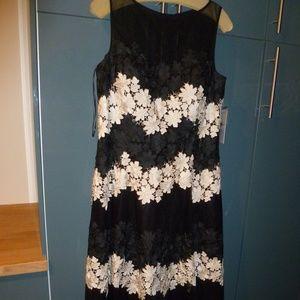 Applique Evening Gown